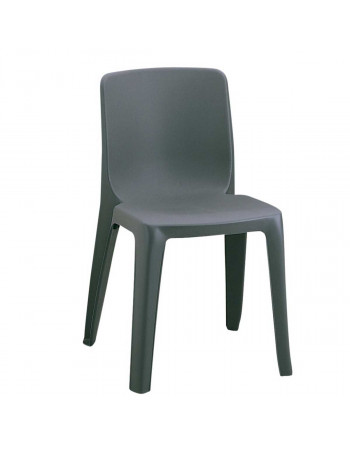 Chaise empilable Denver Assemblable M2 anthracite