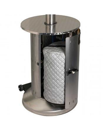 Parasol Chauffant gaz en inox Cosy Commercial