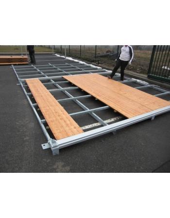 Plancher de bal + Châssis Pagode 5 X 5