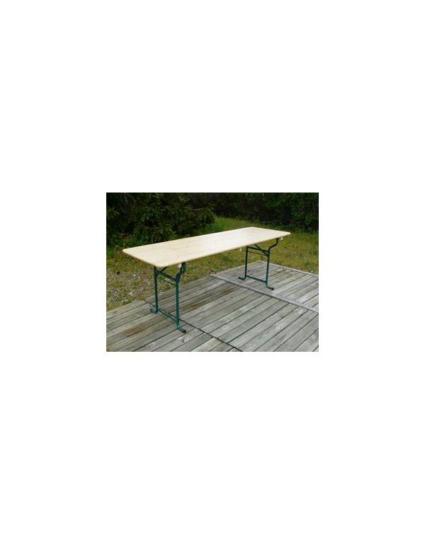 TABLE TOLEDE 220x80 cm