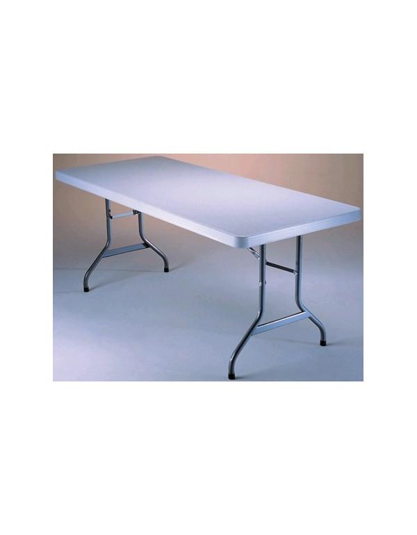 Table polyéthylène 200 x 90cm