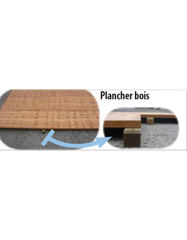 PLANCHER STAND PRO PLIANT 3 X 4.50