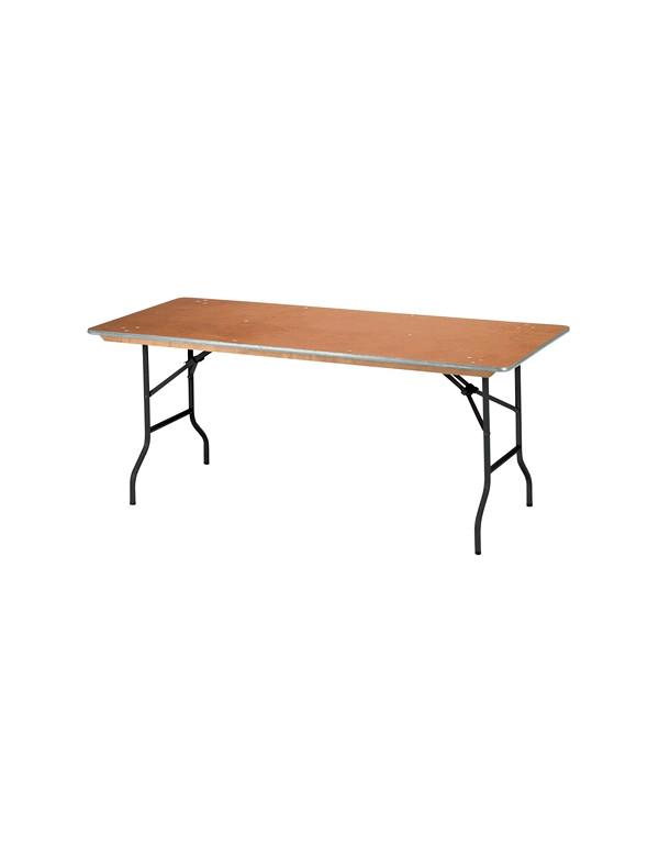 TABLE TRAITEUR RECTANGULAIRE 183X 76 cm