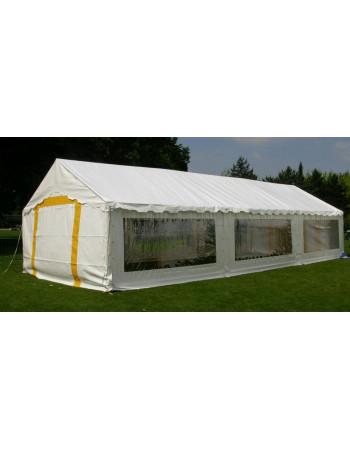 Barnum, tente de réception PLEIN AIR 5x12 complète - 60 m² - toit blanc