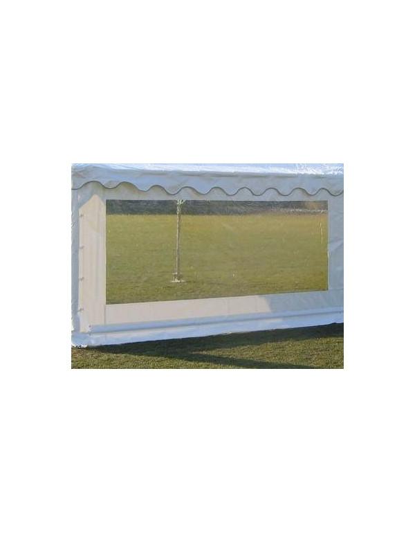 Barnum, tente de réception plein air 5x4 complète - 20 m² - toit blanc