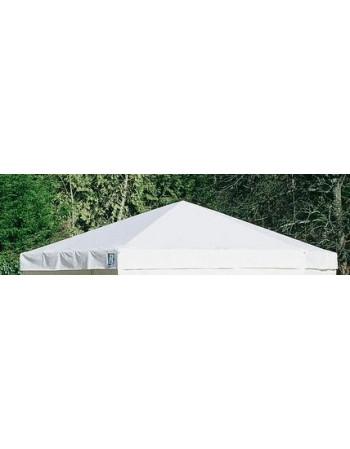 Toit blanc stand hexagonal 12.5M²