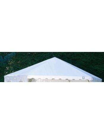 Toit blanc stand hexagonal 42M²