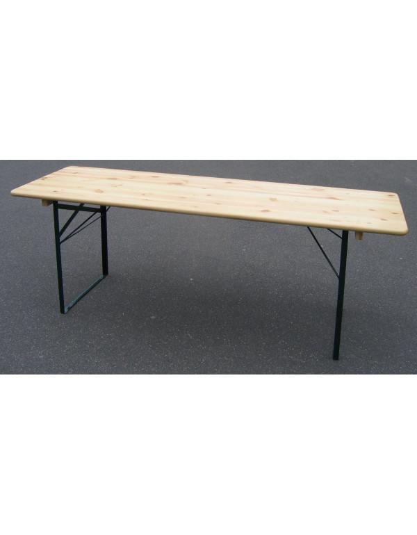 Table brasserie Bavière 220 X 70