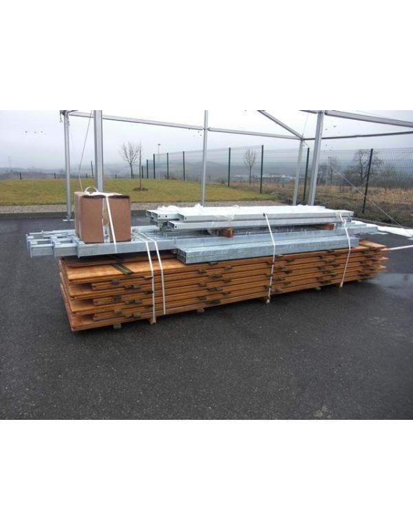 Plancher de bal + Châssis tente Plein Air 3x4