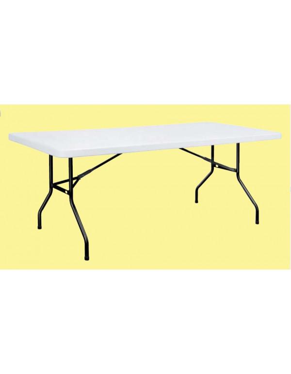 Table Polyéthylène 200 x 90 cm