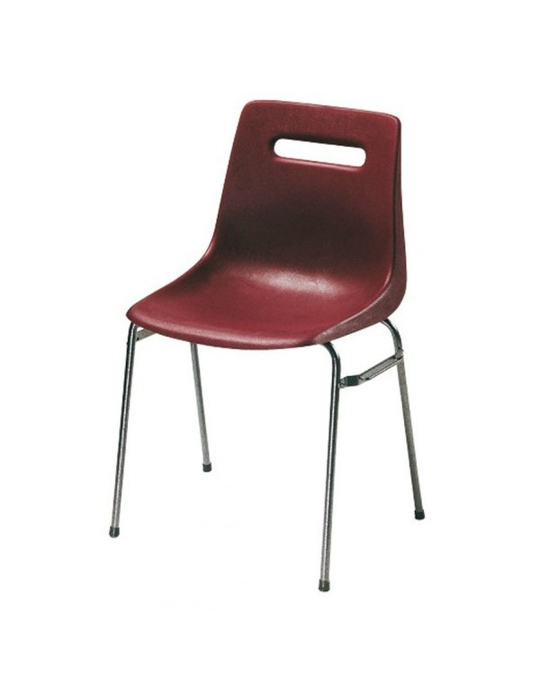 Chaise  Campus métalloplastique empilable et assemblable M2