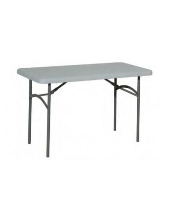Table pliante polyéthylène rectangulaire 122 x 61
