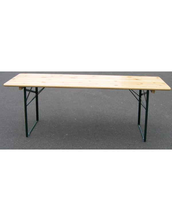 Table brasserie Bavière  220 X 80