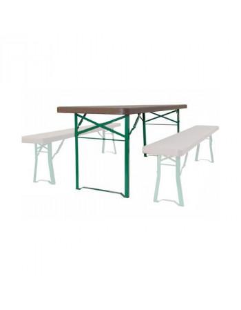 Table polyéthylène 220x67 cm