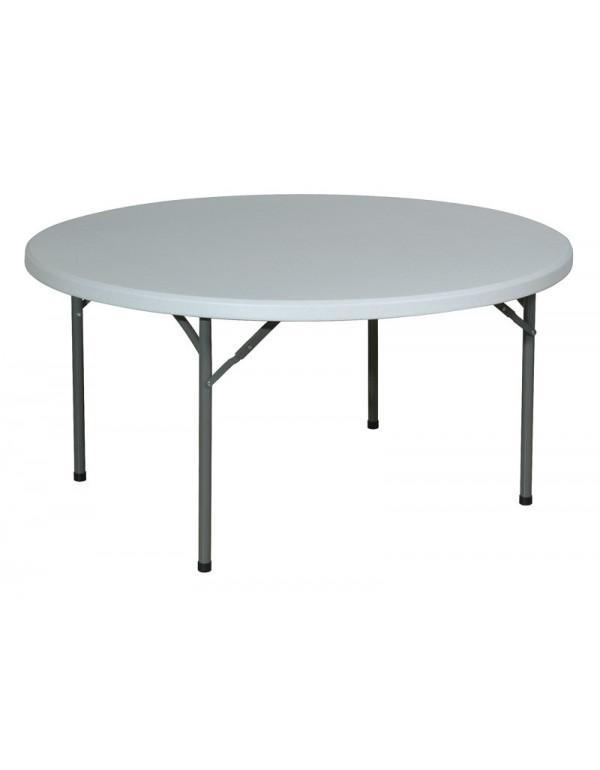 Table polyéthylène Ø 122 cm