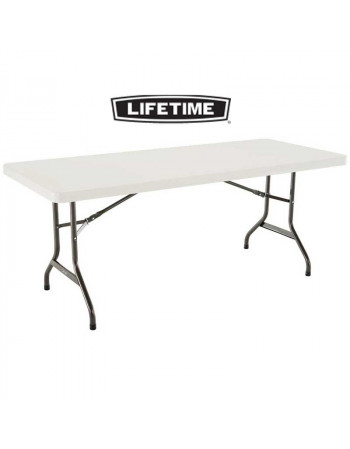 Table polyéthylène lifetime183 x 76 cm