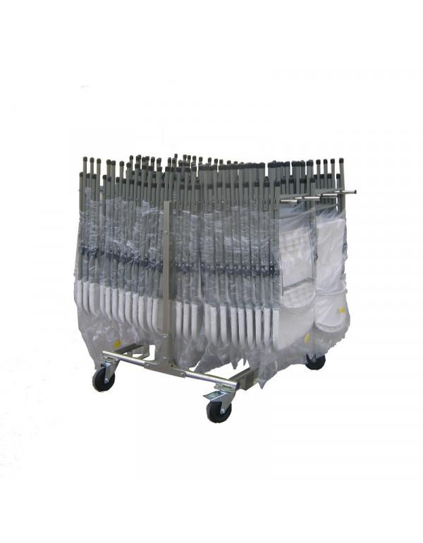 Chariot universel pour chaises pliantes