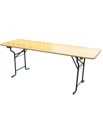 Table Brasserie Tolède 220x80