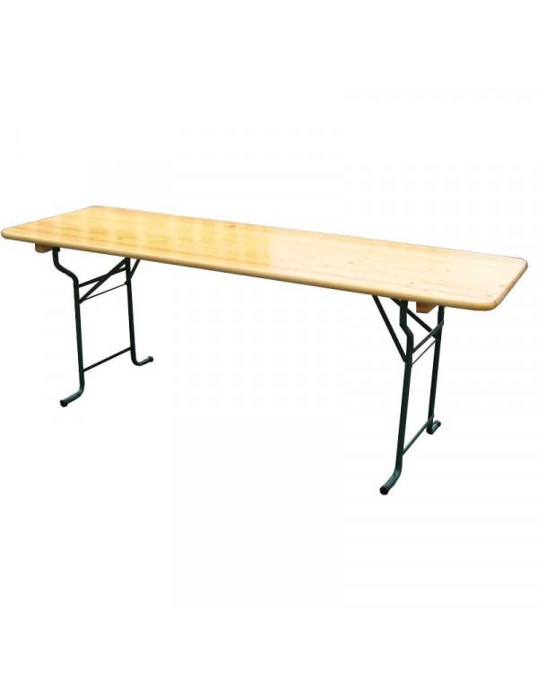 Table Brasserie Tolède 220x80