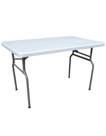 Table polyéthylène 122 x 76 cm