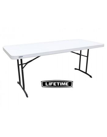 Table Polyéthylène Lifetime 183 X 74 cm