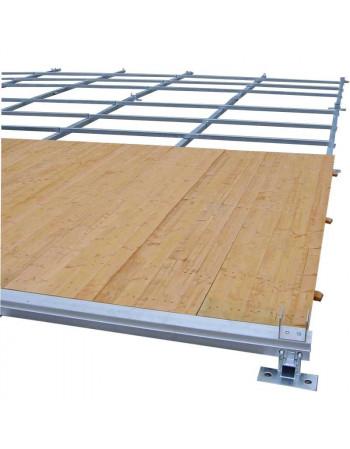 Plancher structure Alu 3 x 9 mètres