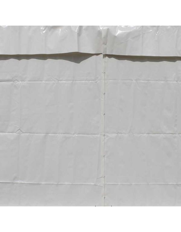 Rideau pignon blanc 3,1m