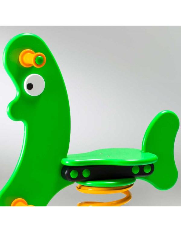 Jeu sur ressort - Banane Verte