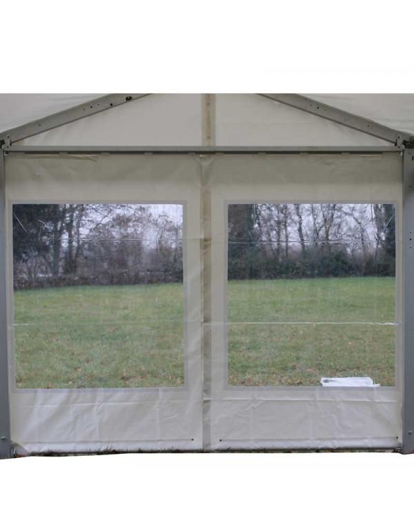 Rideau pignon fenêtre rectangulaire 3,10 m