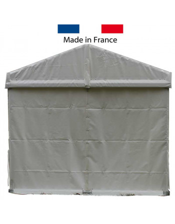 Rideau pignon blanc 3 m