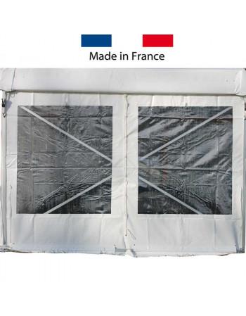 Rideau latéral fenêtre rectangulaire 3m