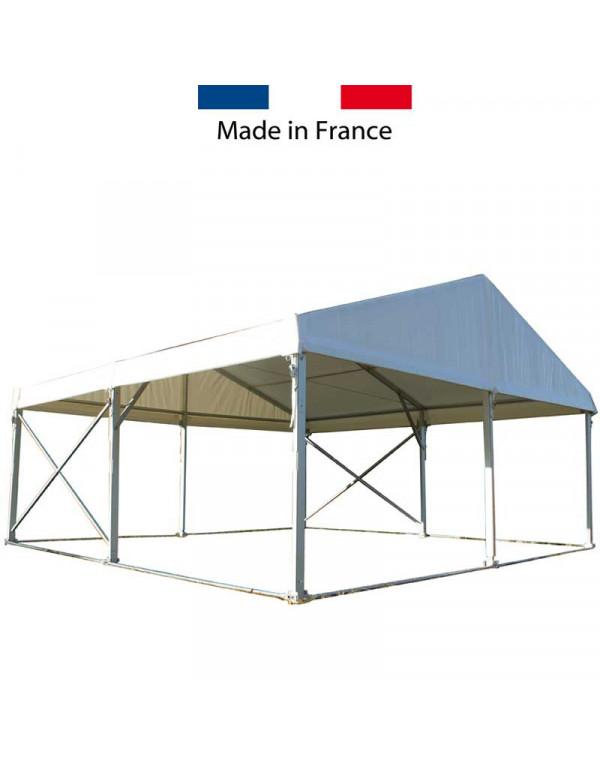 Tente de réception structure Alu 6 x 6 m Toit + armature