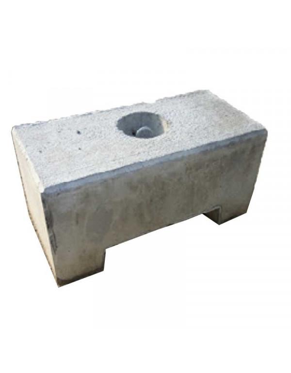 POIDS DE LESTAGE BETON 500 KG