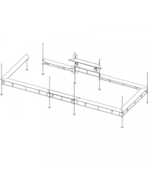 Kit de jonction pour Stand Buvette 4.50 X 4.50