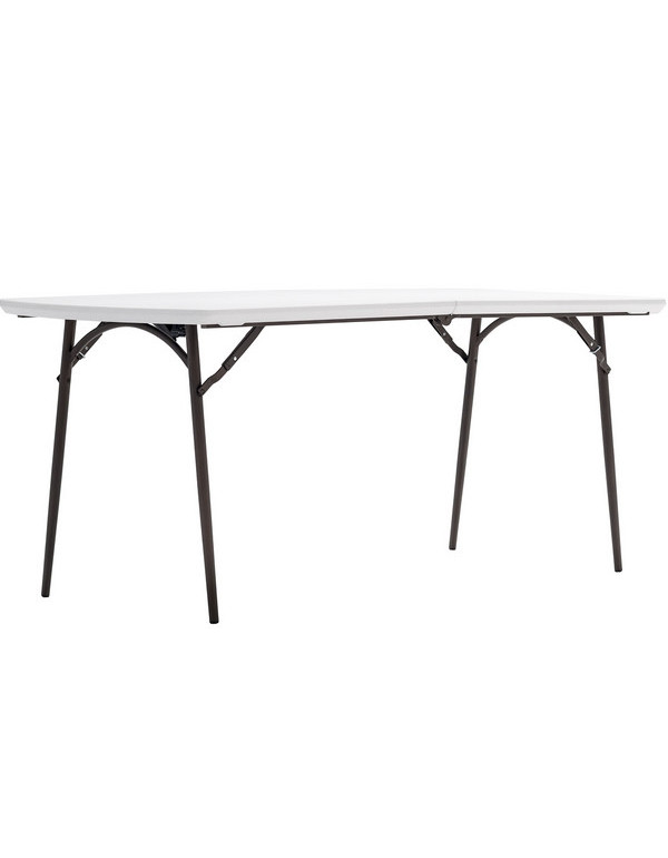 Table pliage central polyéthylène 180cm