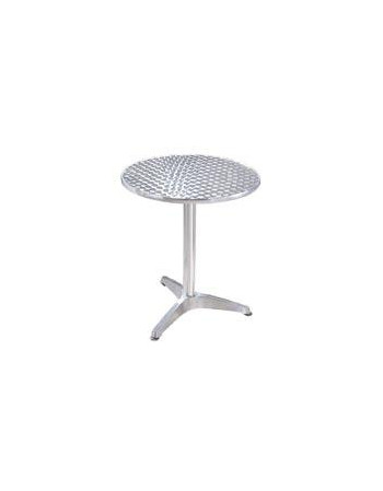 TABLE INOX Ø 60