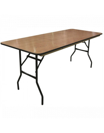 Table traiteur 200 x 76 cm