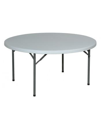 Table polyéthylène Ø 152 cm