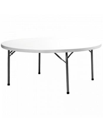 Table polyéthylène Ø 180 cm