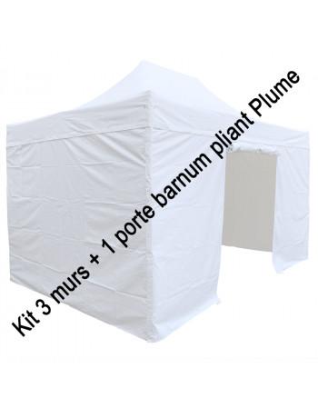 Kit 3 murs + 1 porte pour...