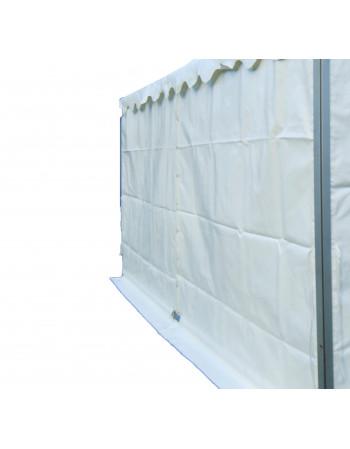 Mur Garden Alu 3m plein blanc