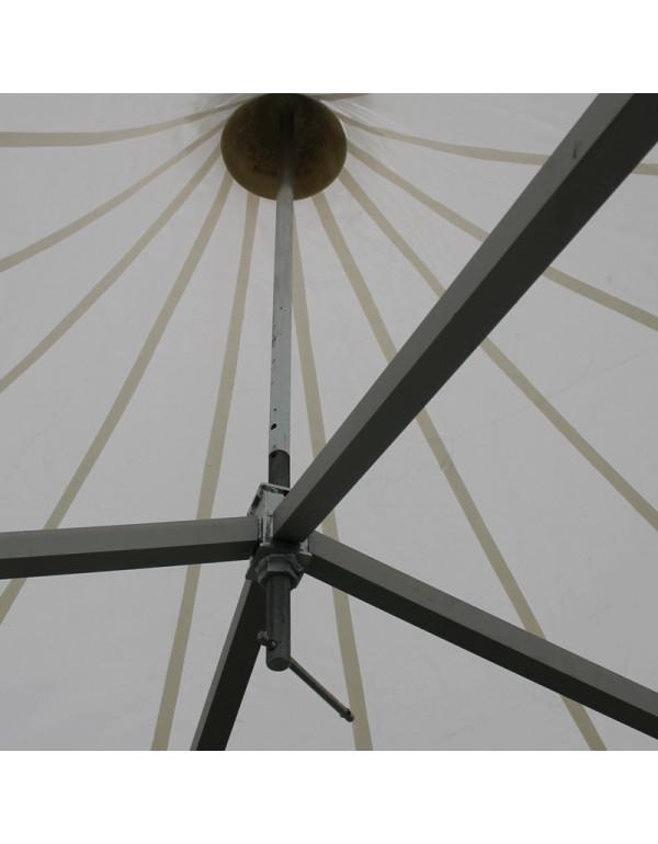 Tente-Pagode-Alu-Garden-croisillon-central