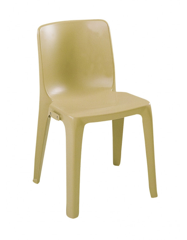 Chaise empilable Denver Assemblable M2 beige