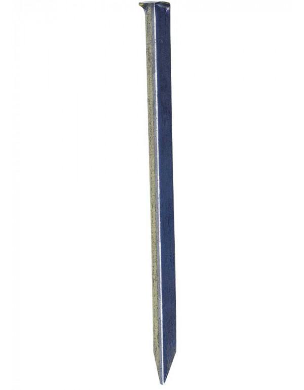 piquets cornières acier 10/10e - long. 23 cm