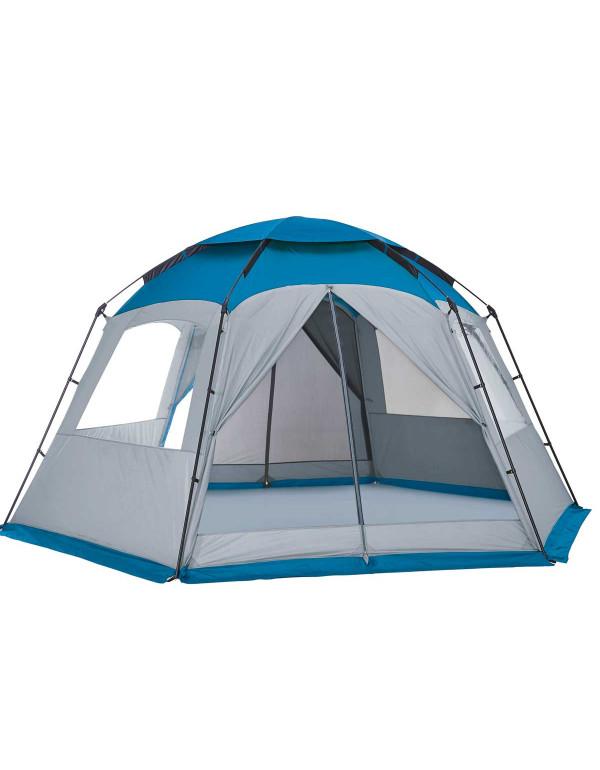 Abri tonnelle camping fermé