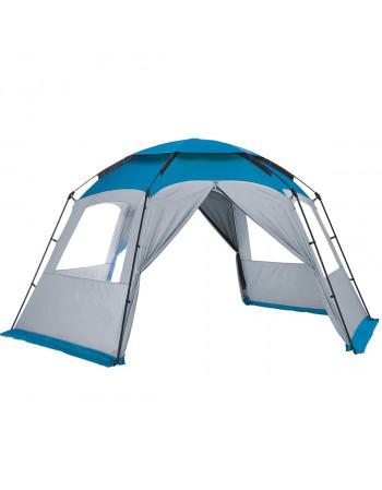 Abri tonnelle camping ouvert