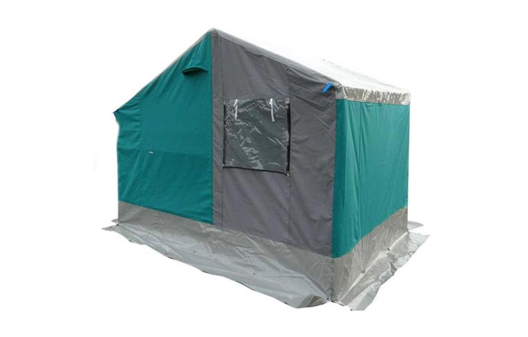 Grande tente dortoir