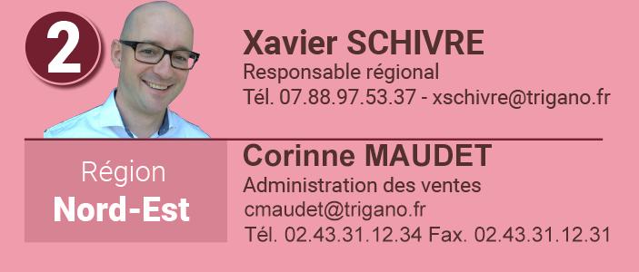 Xavier Schivre Responsable commercial Nord-Est
